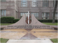 Veterans Memorial - Burnet County Courthouse